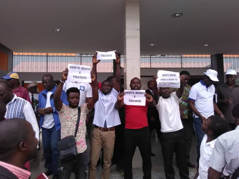 Juventude Cabindesa, acusa Bento Bembe de ser umtraidor